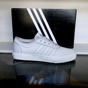 canvas adidas white mono chaussures adiease xerdCoWQB
